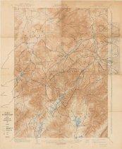 Image of Trail Map of Mt. Marcy Region - Adirondack Trail Improvement Society