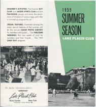 Image of 1959 Summer Season / Lake Placid Club - Lake Placid Club