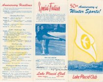 Image of 50th Anniversary of Winter Sports : Lake Placid Club in the Adirondacks - Lake Placid Club
