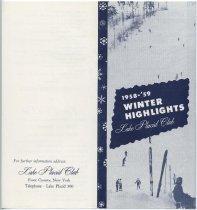 Image of 1958-'59 Winter Highlights / Lake Placid Club - Lake Placid Club