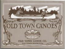 Image of Canvas Covered Water Craft and Their Equipments - Old Town Canoe Company