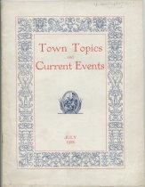Image of Town Topics and Current Events : July 1926 -