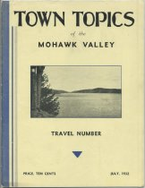 Image of Town Topics of the Mohawk Valley : Traveler Number -