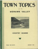 Image of Town Topics of the Mohawk Valley : Country Number -