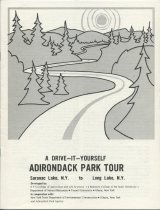 Image of A Drive-It-Yourself Adirondack Park Tour : Saranac Lake, N.Y. to Long Lake, N.Y. / developed by: NYS College of Agriculture and Life Sciences (A Statutory College of the State University) Department of Natural Resources -
