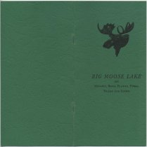 Image of The Property Owners' Association of Big Moose Lake : History, Members, Camps, Trails, Birds, Plants, Trees, Etc. / compiled and printed by direction of the Association - Property Owners' Association of Big Moose Lake