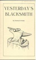 Image of Yesterday's Blacksmith / Charles W. Nolan - Nolan, Charles W.