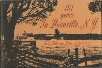 Image of 181 Years : A compendium of historical facts, dates and trivia regarding the New York State town and village of Boonville in the years from 1795 to 1976 / by Ron Ryder - Ryder, Ron, 1904-