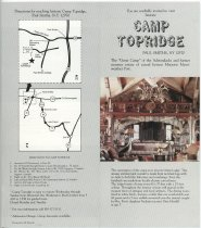Image of You are cordially invited to visit historic Camp Topridge -