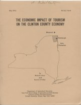 Image of The Economic Impact of Tourism on the Clinton County Economy / by Michel L. Hiser and Dennis U. Fisher - Hiser, Michel L.