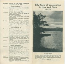 Image of 50 Years of Conservation in New York State, 1885-1935 - New York (State). Conservation Department
