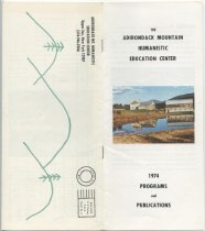 Image of 1974 Programs and Publications / The Adirondack Mountain Humanistic Education Center - National Humanistic Education Center