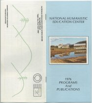 Image of 1976 Programs and Publications / National Humanistic Education Center - National Humanistic Education Center