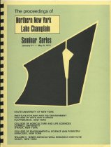 Image of The Proceedings of Northern New York, Lake Champlain Seminar Series, January 31-May 9, 1974 - Berberet, William G.