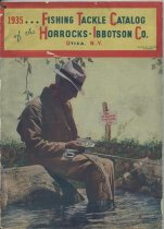 Image of 1935... Fishing Tackle Catalog of the Horrocks-Ibbotson Co. - Horrocks-Ibbotson Co.