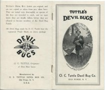 Image of Tuttle's Devil Bugs - O. C. Tuttle Devil Bug Company