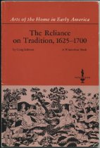 Image of The Reliance on Tradition, 1625-1700 / by Craig Gilborn - Gilborn, Craig