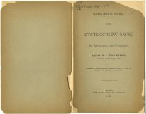 Image of Topographical Survey of the State of New-York, Its Importance and Necessity / by Prof. W. P. Trowbrige - Trowbridge, William Pettit, 1828-1892