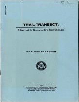 Image of Trail Transect : A Method for Documenting Trail Changes / by R. E. Leonard and A. M. Whitney - Leonard, R. E.