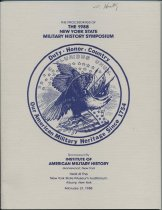 Image of The Proceedings of the 1988 New York State Military History Symposium / sponsored by Institute of American Military History - Institute of American Military History