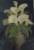 Image of [Vase with Calla Lilies] - Print