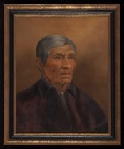 Image of Untitled: Portrait of Mitchell Sabattis (1821-1906) - Painting