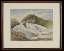 Image of Great Falls of the Hudson - Painting