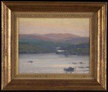Image of Blue Mountain Lake - Painting