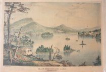 Image of Blue Mountain Lake. Adirondacks. - Print