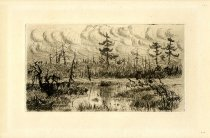 Image of Marsh and Boat - Print