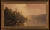 Image of Raquette Lake - Painting