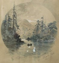 Image of Racquette River - Drawing