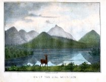 Image of View of Dial Mountain - Print