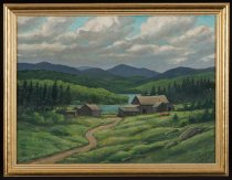 Image of Lumber Headquarters - Painting