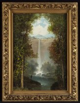 Image of Russell Falls, Adirondacks - Painting