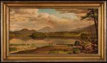 Image of Untitled: Gold And Silver Beach, Raquette Lake - Painting