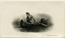 Image of Canoe. - Print