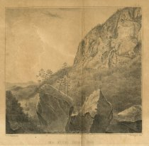 Image of View of the Indian Pass - Print