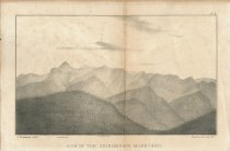 Image of View of the Adirondack Mountains - Print