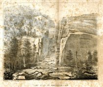 Image of Trap Dyke, At Avalanche Lake - Print