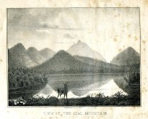 Image of View of the Dial Mountain - Print