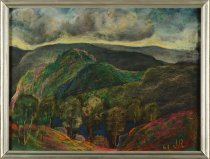 Image of Untitled: Adirondack Landscape Near Elizabethtown, Essex Co. - Painting