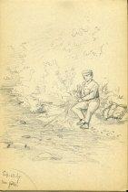 Image of [Near Gibbs] - Drawing