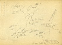 Image of [Untitled: Map of Adirondacks] - Drawing