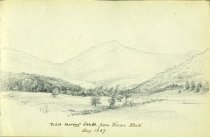 Image of [View Looking South From Keene Flats] - Drawing