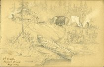 Image of [2nd Camp. Roger's Brook] - Drawing