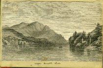 Image of [Upper Ausable Lake] - Drawing