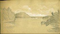 Image of [Oak Bay, New Brunswick] - Drawing