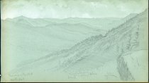 Image of [Kearsage and Bartlett Double Peaks] - Drawing