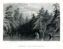 Image of Barhydt's Lake, Near Saratoga. - Print